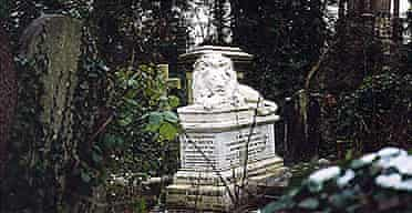 Abney Park cemetery in London