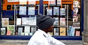 Frontline Books in Leicester. Photograph: David Sillitoe