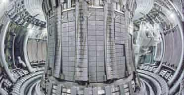 The reaction chamber of Jet at Culham, Oxfordshire