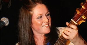Scottish singer-songwriter Sandi Thom