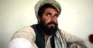 Afghan villlager Jamal Ludin