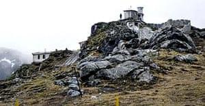 The Nathu La pass