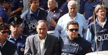 Arrest of Italian mafia suspects