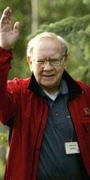 The US billionaire Warren Buffett. Photograph: AP