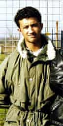 Zahid Mubarek, who was killed by his white racist cellmate at Feltham young offenders institute in 2000
