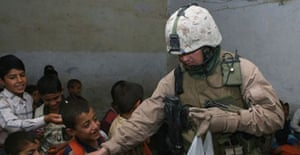 Staff Sergeant Raymond Plouhar, 30, killed by a roadside bomb in Anbar province, Iraq. Photograph: US Marine Corps/AP