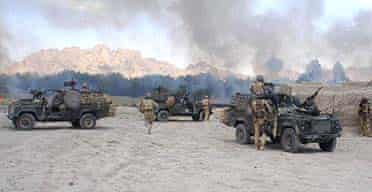 Soldiers of 3 Para in a six-hour firefight near Nawzad