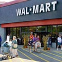 A Wal-Mart store in Maine. Photograph: Joel Page/AP