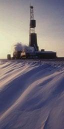 A BP oil well in Alaska. Photograph: AP
