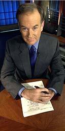 Fox News presenter Bill O'Reilly