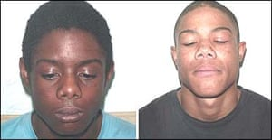 Danny Preddie (left) and his brother Ricky Preddie. Photograph: Metropolitan police/PA
