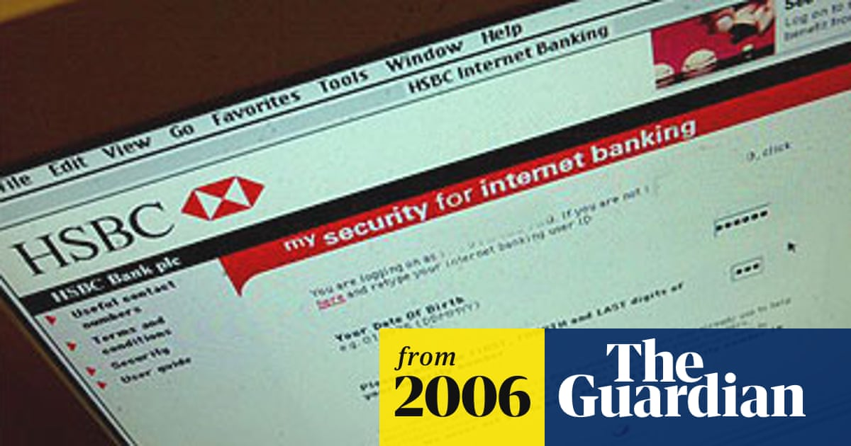 Security flaw leaves 3m HSBC online accounts open to fraud
