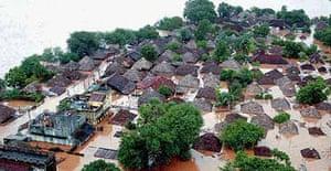 Floods in Andhra Pradesh, India