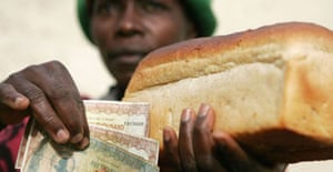 Bread of life: A loaf costs Z$45,000 in Zimbabwe, and most people blame Robert Mugabe