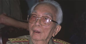 Vo Nguyen Giap is one of the most influential generals of modern times. Photograph: Clive Hills
