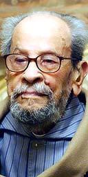 The Egyptian novelist and Nobel laureate Naguib Mahfouz