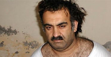 September 11 suspect Khalid Sheikh Mohammed shortly after his capture during a raid in Pakistan