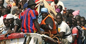 The D-day package from Senegal to Spain   World news   The