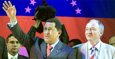 Hugo Chávez and Ken Livingstone