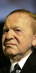 Sheldon Adelson of Las Vegas Sands Corporation