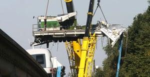 Maglev train crash, Germany