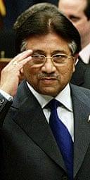 Pakistan president, Pervez Musharraf