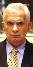 Former Bosnian Serb political leader Momcilo Krajisnik