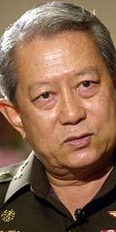 Retired Thai general Surayud Chulanont