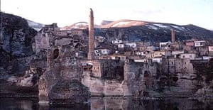 Hasankeyf, Turkey, near the site of the Ilisu dam