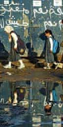 Children on the way to school in Sadr City, Baghdad