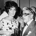 Callas and Onassis at a Monte Carlo club in 1960