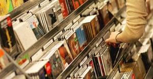 Music sales – CDs