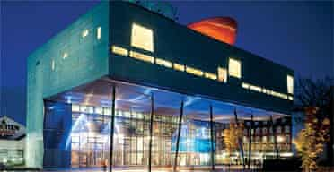 Peckham library in London