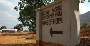 The Home of Hope orphanage in Mchinji, Malawi, where David Banda lived from the age of one month until, a year later, he left for London as Madonna's chosen child for adoption