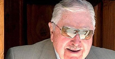 Former Chilean dictator Augusto Pinochet, at his home in Bucalemu, Chile.