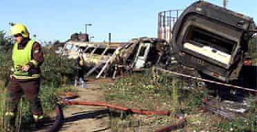 Ladbroke Grove Paddington rail crash
