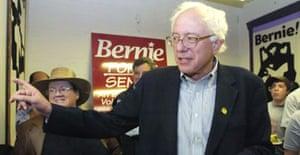 Democrat Bernie Sanders of Vermont