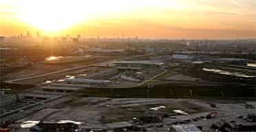 The site of the London 2012 Olympics