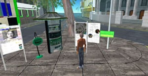 A 'postcard' from the Second Life cyber-community