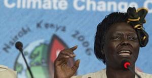 Wangari Mathai, Kenya's 2004 Nobel peace prize laureate
