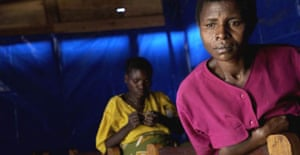 A medical help and solidarity centre for rape victims in Goma, the Democratic Republic of Congo