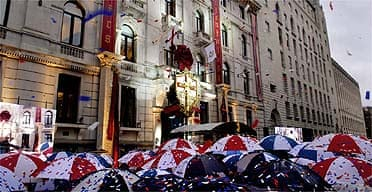The opening of the Church of Scientology in London