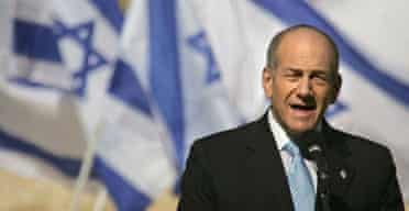 The Israeli prime minister, Ehud Olmert, sets a series of concessions to the Palestinians offered in return for their renunciation of violence and the release of the captured Israeli soldier Gilad Shalit