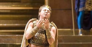 Roberto Alagna, who walked off the stage at La Scala when he was booed by the audience