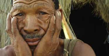 A Kalahari Bushman elder
