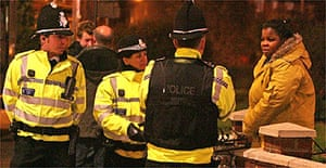 Police talk to residents in and near the red light district in Ipswich