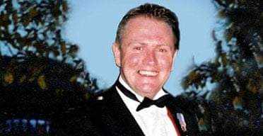 """British tank commander Sgt Roberts, who was accidentally shot and killed by """"friendly fire"""" in Iraq."""