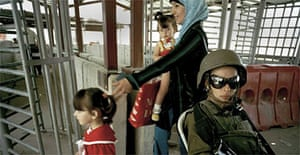 Qalandia checkpoint outside Jerusalem
