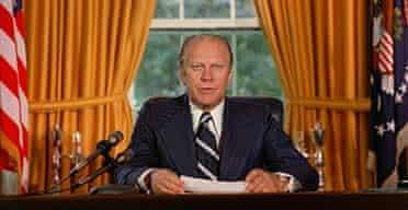 Former US president Gerald Ford