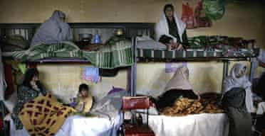The women's wing of Pul-e-Charkhi prison on the outskirts of Kabul, Afghanistan